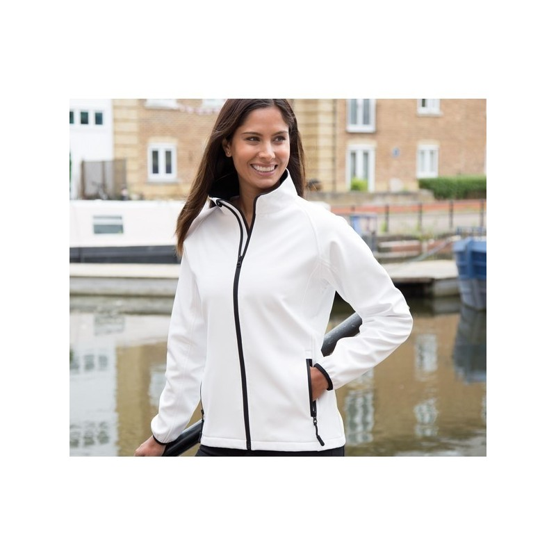 Womens Printable Soft-Shell Jacket - Veste Soft-Shell imprimable femme - Softshell à prix de gros