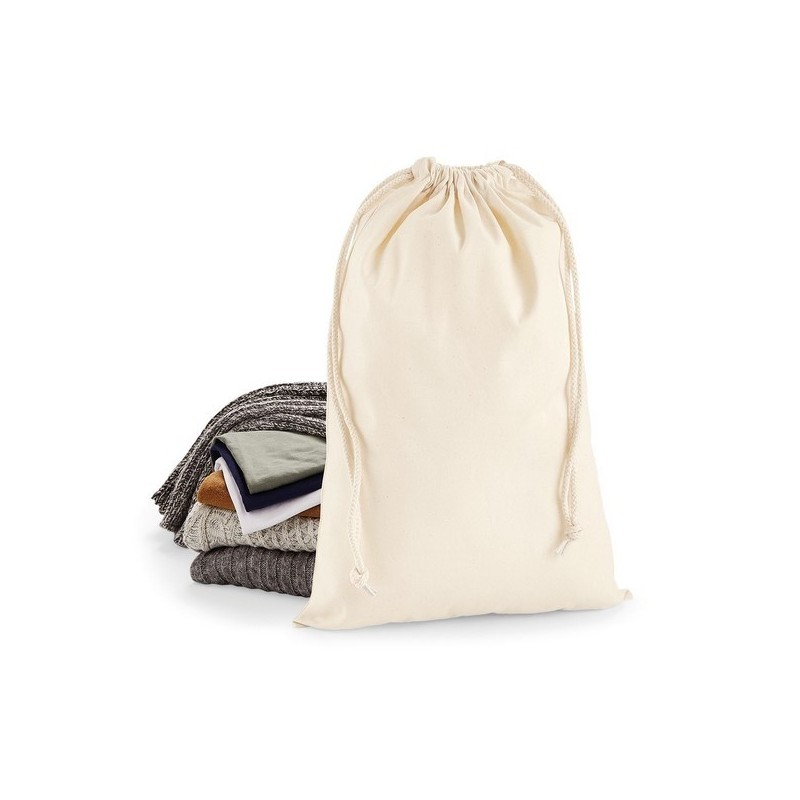 Premium Cotton Stuff Bag - Naturel à prix grossiste - Sac divers à prix de gros