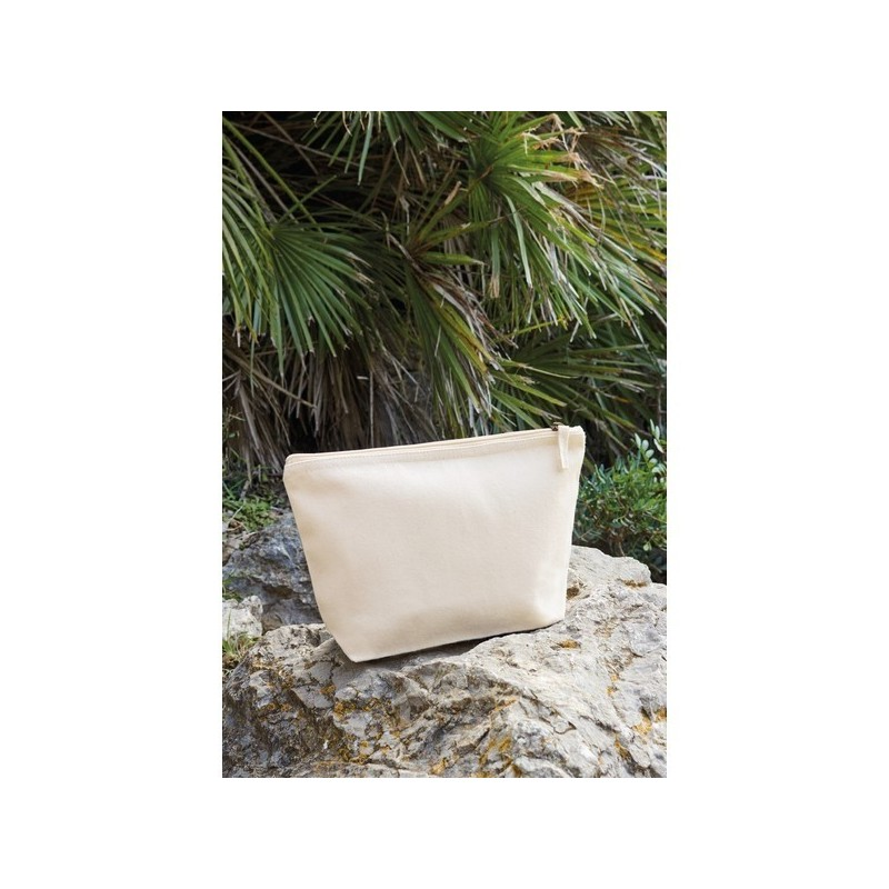 Earthaware Organic Accessory Bag - Pochette en coton organique - Naturel - Sac divers à prix grossiste