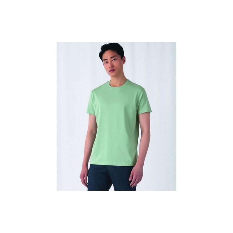 B&C Organic E150 - T-shir homme col rond 150 organique - Blanc à prix grossiste - Textile equitable et bio à prix de gros