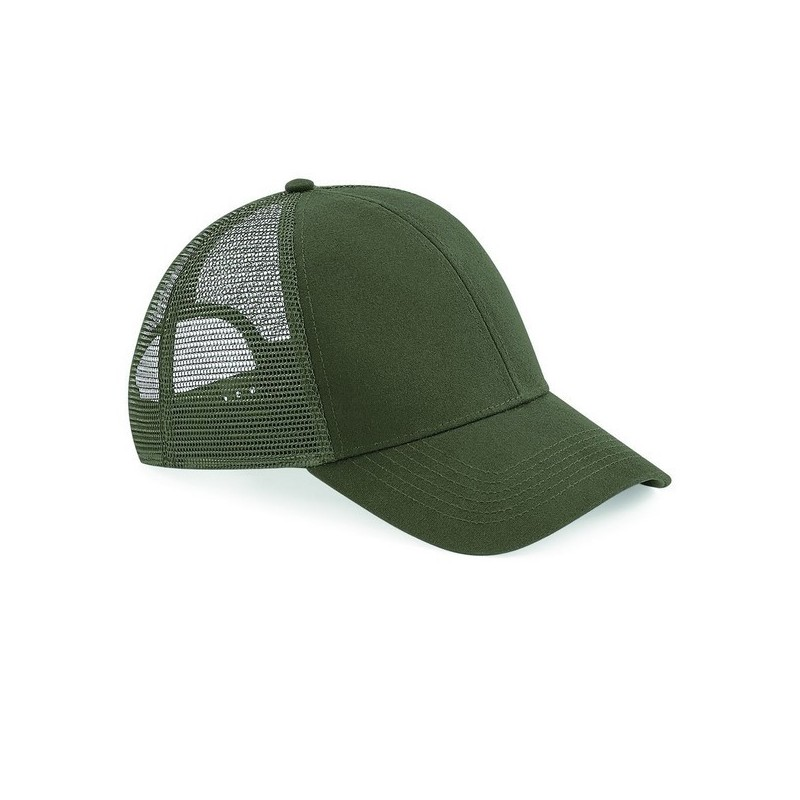 Organic Cotton Trucker - Casquette filet en coton bio - Textile à prix grossiste
