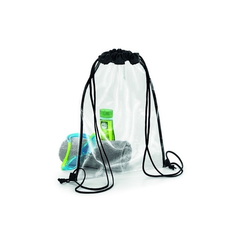 Clear Gymsac - Sac gym transparent à prix grossiste - Sac naturel à prix de gros