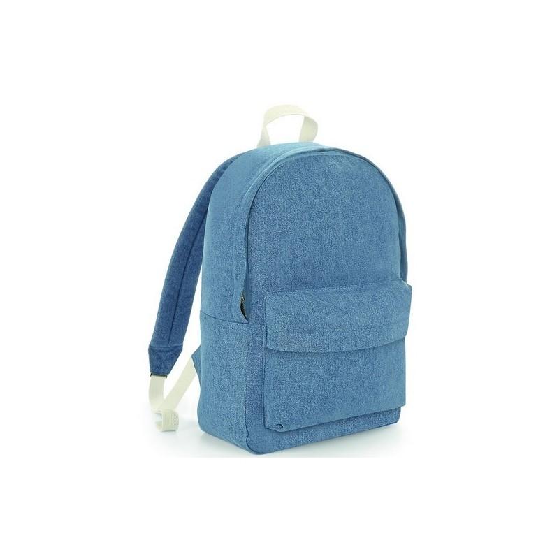 Denim Backpack - Sac à dos en denim - Sac à prix grossiste