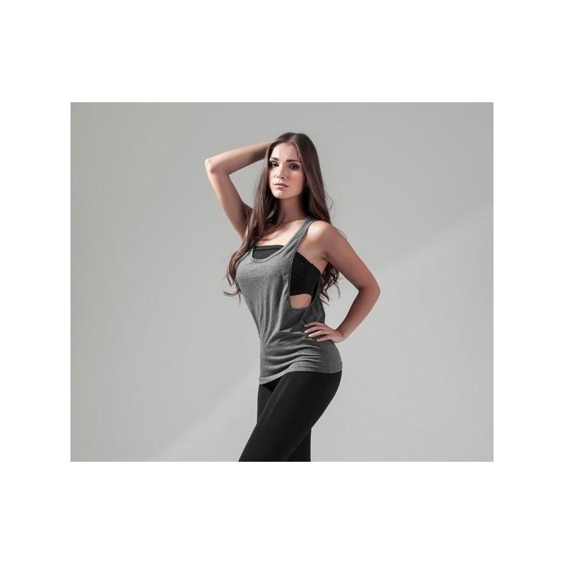 Ladies Loose Tank - Débardeur emmanchures échancrées - Blanc - T-shirt femme à prix de gros
