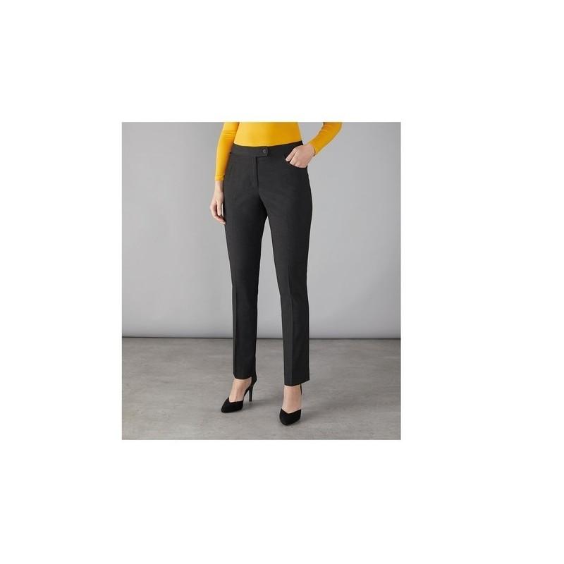 Whitechapel - Pantalon de tailleur slim femme Whitechapel - Pantalon femme à prix de gros
