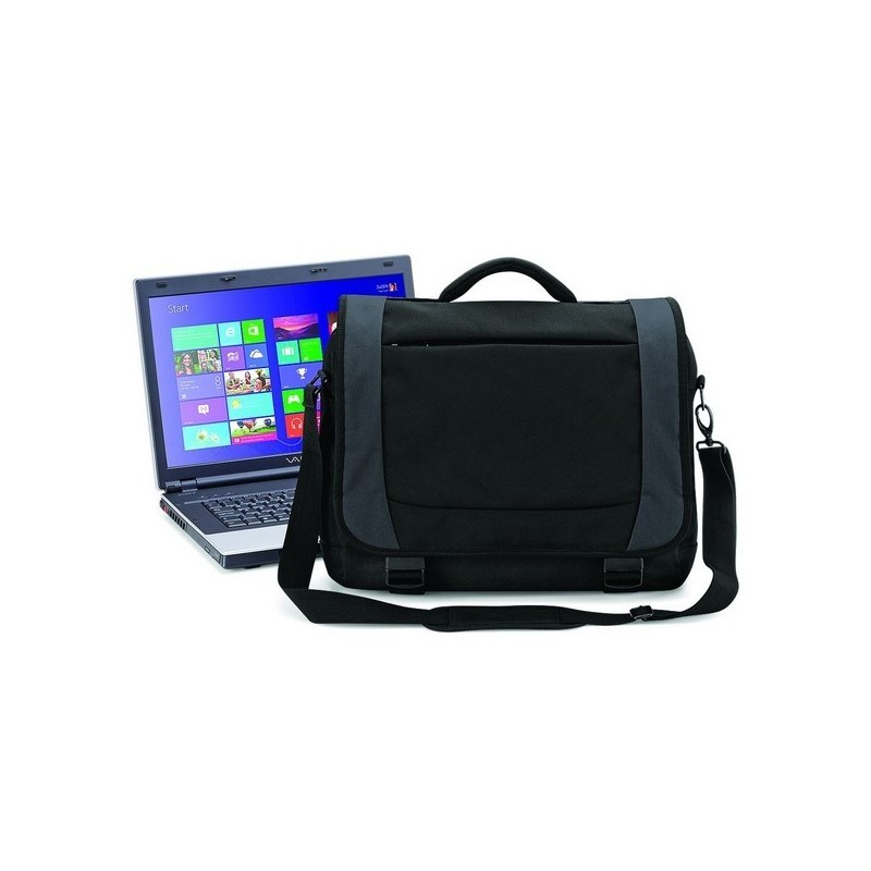 TUNGSTEN™ LAPTOP BRIEFCASE - Sacoche ordinateur portable Tungsten™ - Sac à prix grossiste
