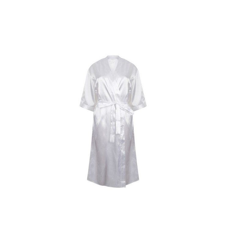 Ladies Satin Robe - Peignoir en satin - Peignoir à prix grossiste