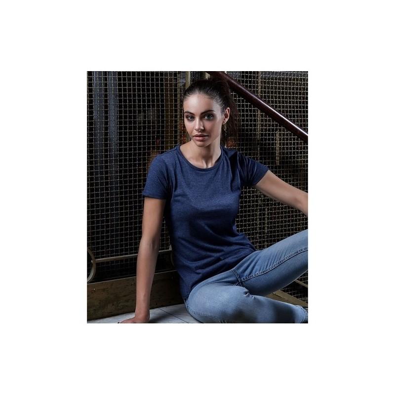 Ladies Urban Melange Tee - T-shirt femme 50/50 à prix de gros - T-shirt femme à prix grossiste