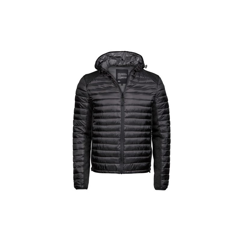 Hooded Outdoor Crossover - Doudoune capuche Crossover homme - Doudoune à prix grossiste