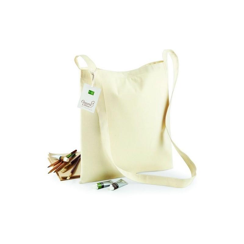 Organic Cotton Sling Tote - Sac shopping en coton bio à prix de gros - Totebag à prix grossiste