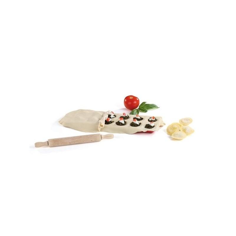 Moule à raviolis ronds 12 empreintes - Moule de cuisine à prix grossiste