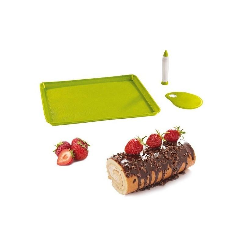 Set pour gâteaux roulés et bûches - Kit cuisine à prix de gros