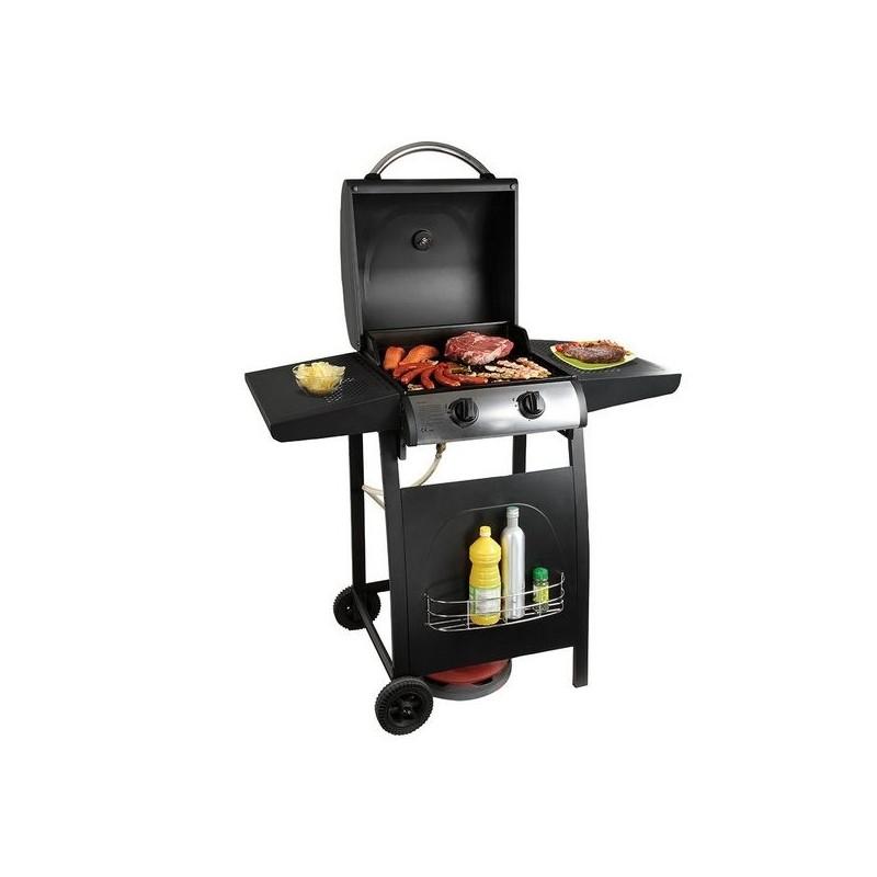 Barbecue gaz sur pieds 2 brûleurs à prix de gros - Barbecue à prix grossiste