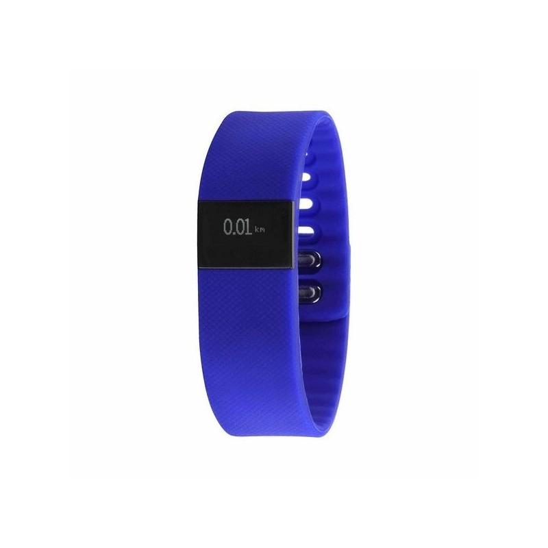 Bracelet d'activité connecté bleu - Montre connectée à prix de gros