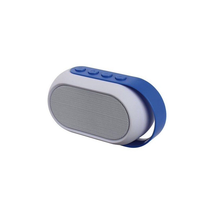 Haut-parleur compatible Bluetooth® bleu à prix de gros - Radio de douche à prix grossiste