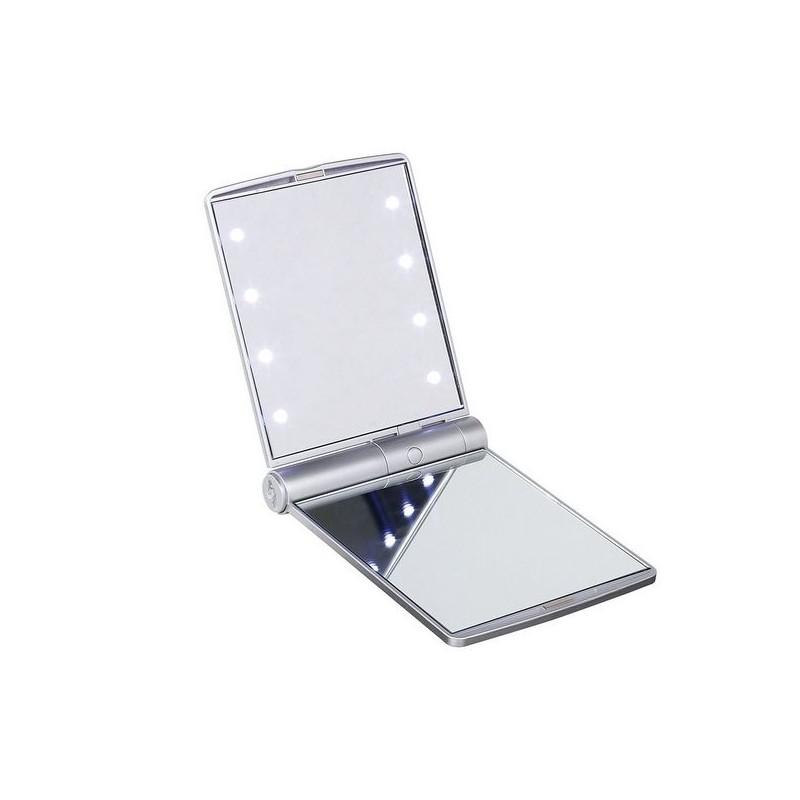 Miroir de poche lumineux à prix grossiste - Miroir à prix de gros