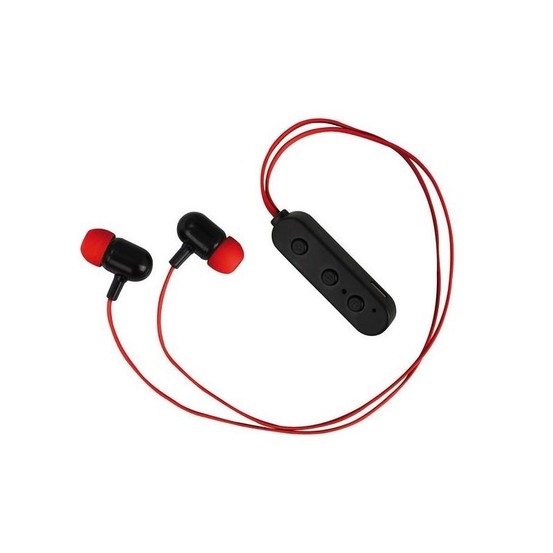 Clip Sonic Technology - Ecouteurs compatibles Bluetooth® Rouge à prix grossiste - Ecouteurs bluetooth à prix de gros