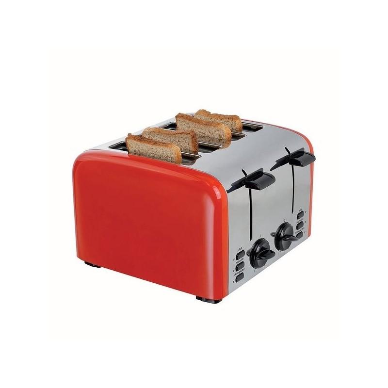 Grille-pain 4 tranches rétro - Grille-pain à prix grossiste