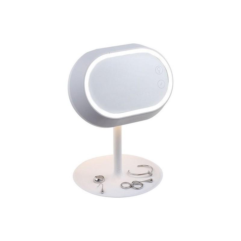 Miroir lampe tactile sur pied - Miroir à prix de gros