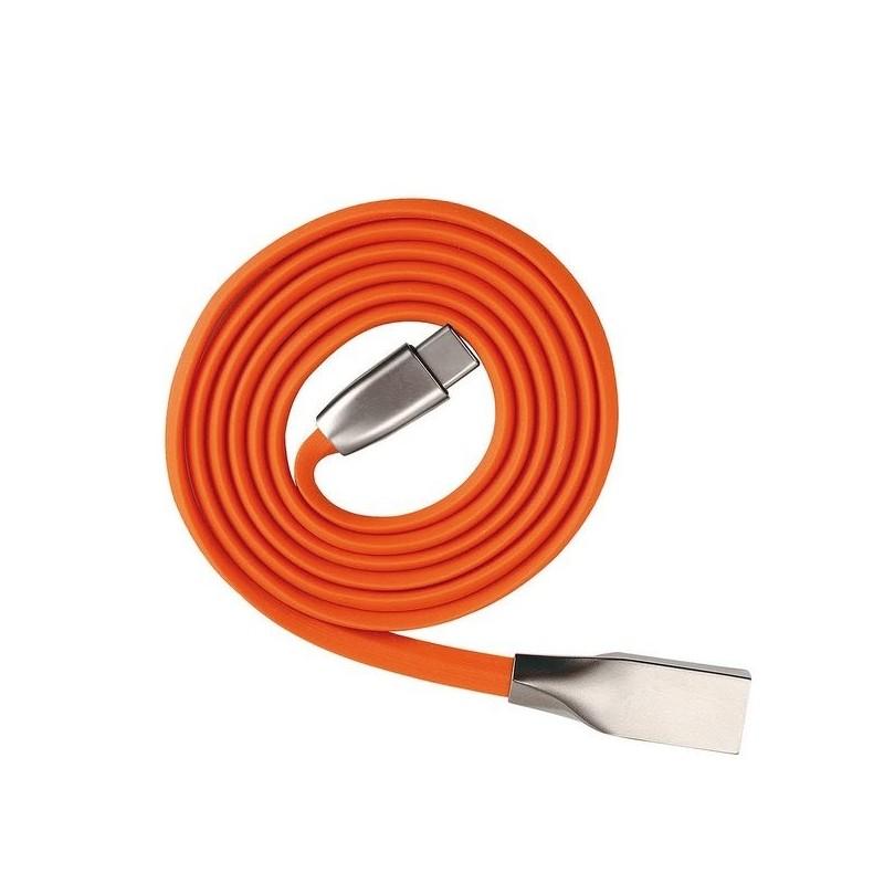 Câble Type C Orange - Cable de charge à prix de gros