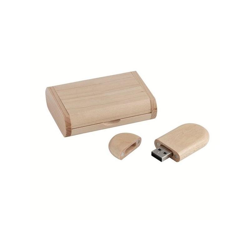 Clip Sonic Technology - Clé USB en bois - Clé usb à prix grossiste