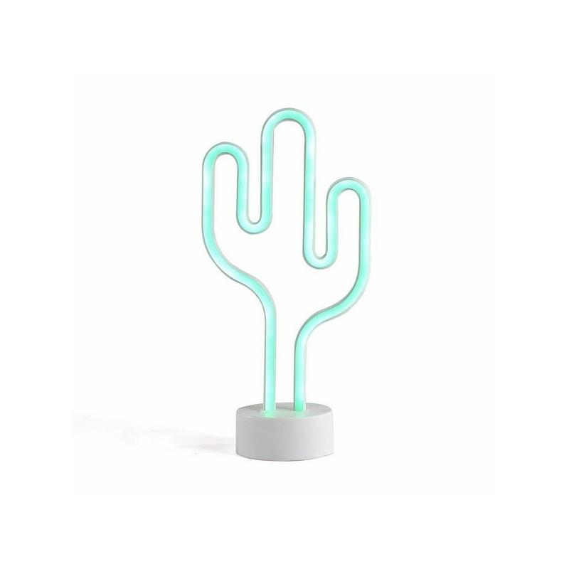 Lampe néon cactus - Accessoire de décoration à prix grossiste