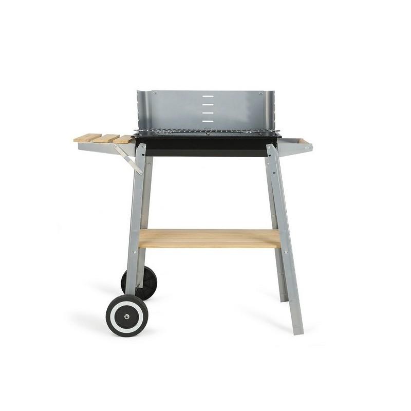 Barbecue charbon finition bois - Barbecue à prix de gros
