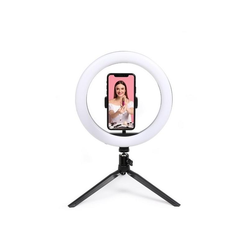 Ring light avec trépied - Accessoire photo à prix grossiste