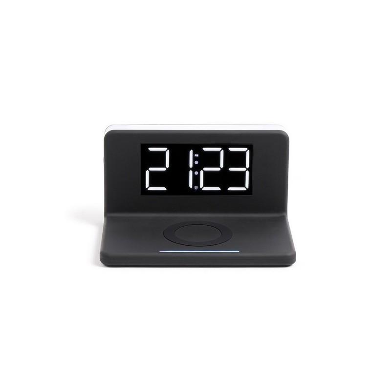 Réveil chargeur sans fil fast charge à prix de gros - Réveil à prix grossiste