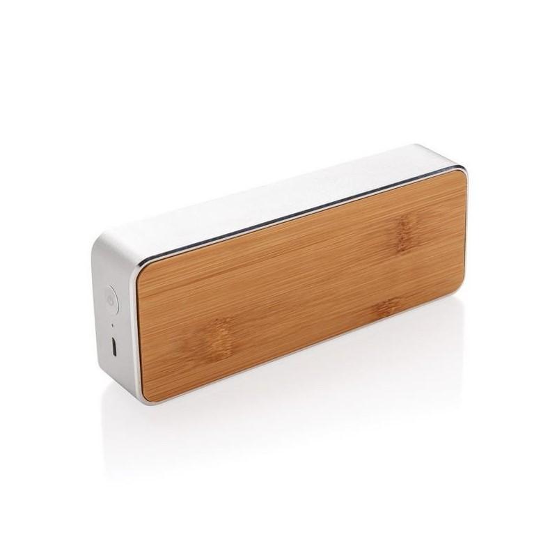 Enceinte 3W avec bambou, Nevada à prix de gros - Produit en bois à prix grossiste
