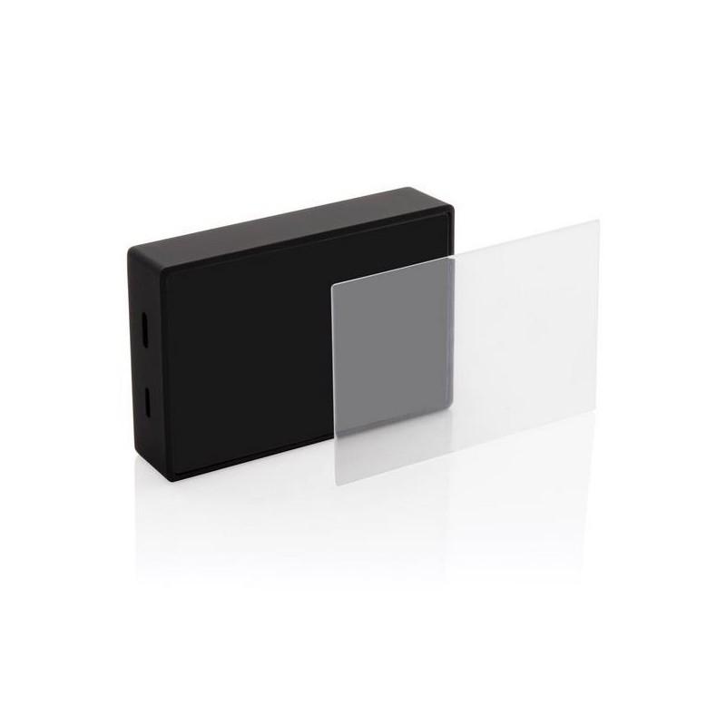 Enceinte 3W avec verre trempé personnalisable - Produit en bois à prix de gros