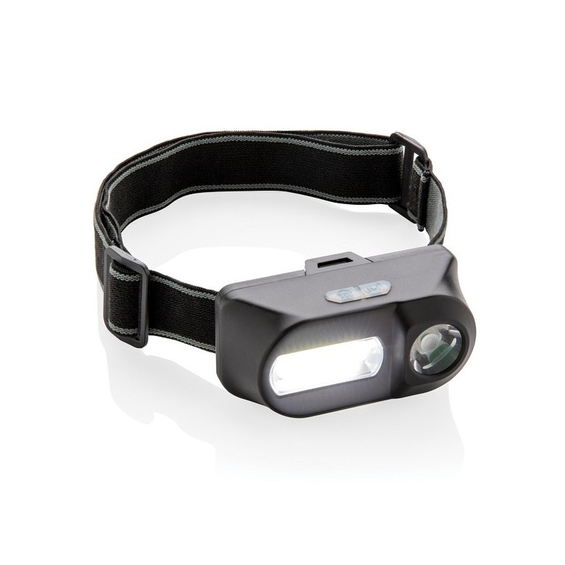 Lampe frontale avec LED et COB - Lampe frontale à prix de gros