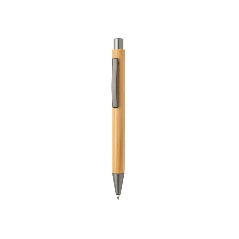 Stylo en bambou au design épuré à prix de gros - Stylo en bois à prix grossiste