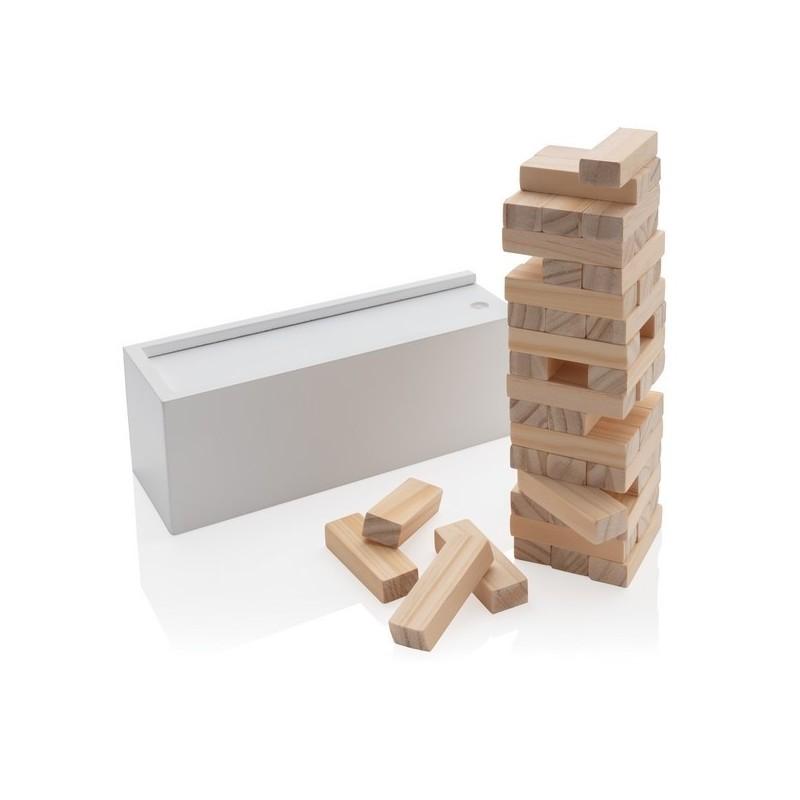Jeu de blocs en bois Deluxe - Jeu en bois à prix de gros