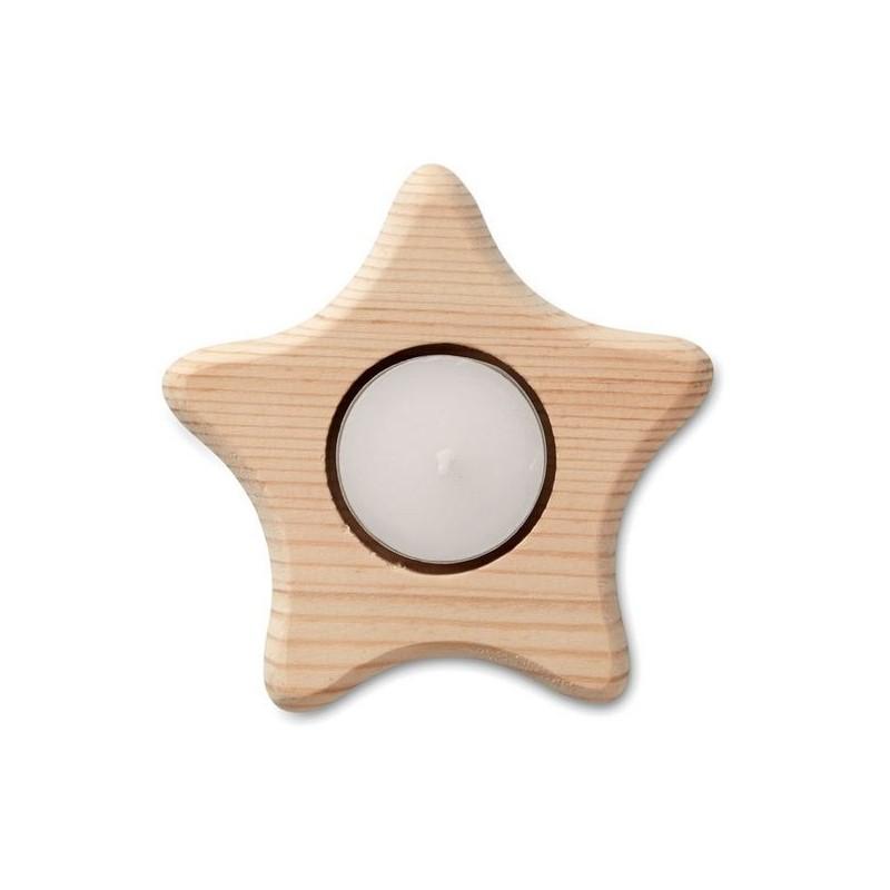 TEASTAR - Bougeoir forme d'étoile - Bougeoir à prix grossiste