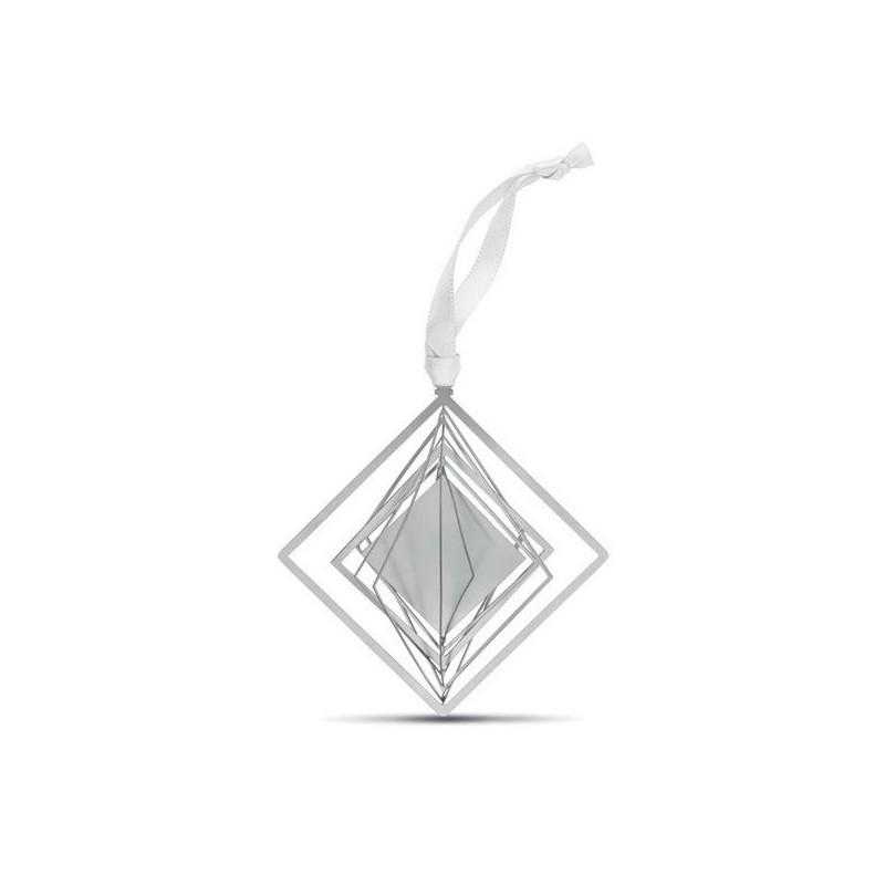 BUNA - Décoration forme carrée ruban à prix de gros - Accessoire de décoration à prix grossiste
