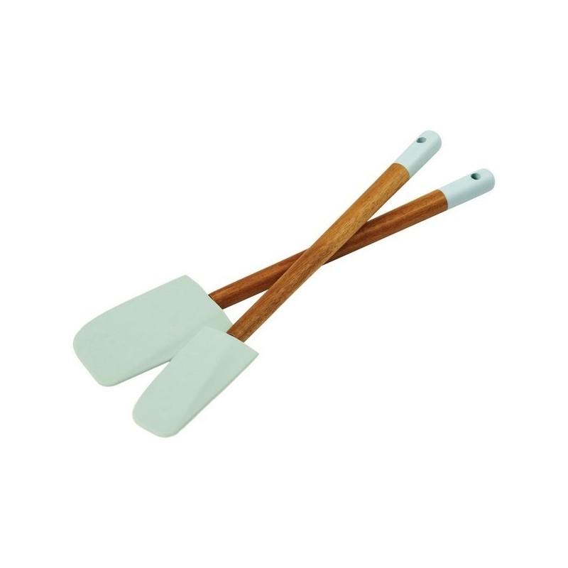 Ensemble de 2 spatules Altus - Cuillère en bois à prix de gros
