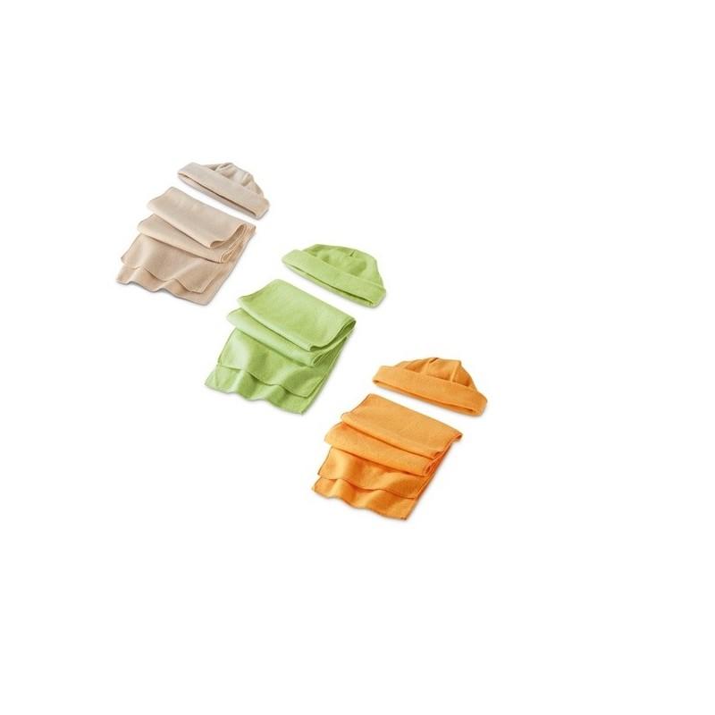 Set écharpe et bonnet - écharpe à prix grossiste