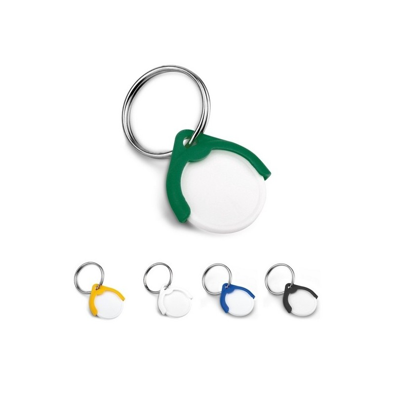 CATCH EU/PL. Porte-clés - Porte-clés jeton à prix grossiste