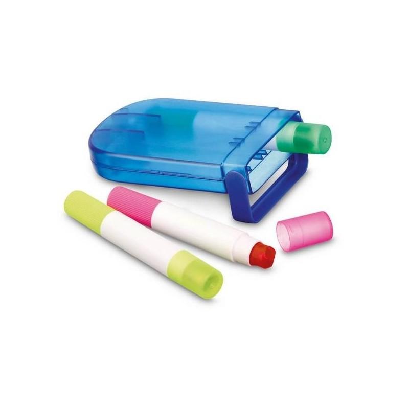 GELIX. Boîte avec 3 crayons de cire à prix de gros - Crayon cire à prix grossiste