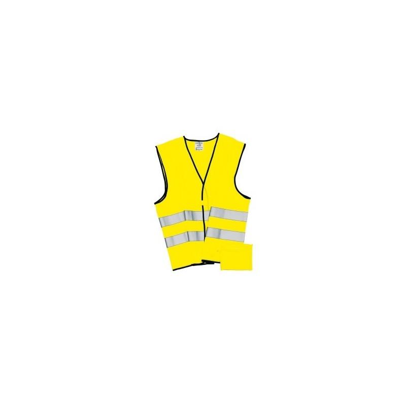 Gilet de sécurité HERO à prix grossiste - Gilet jaune à prix de gros