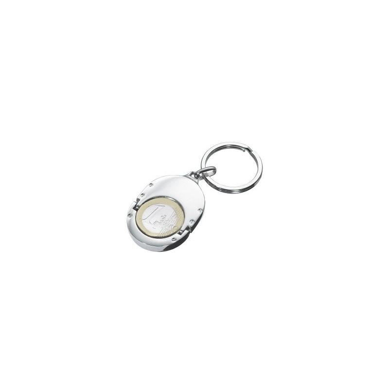 Porte-clés 1 EURO HOLDER à prix de gros - Porte-clés jeton à prix grossiste