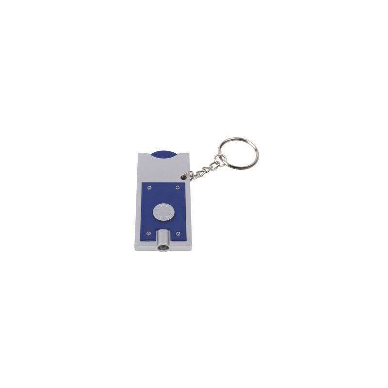 Porte-clés DEL SHOPPING à prix grossiste - Porte-clés jeton à prix de gros