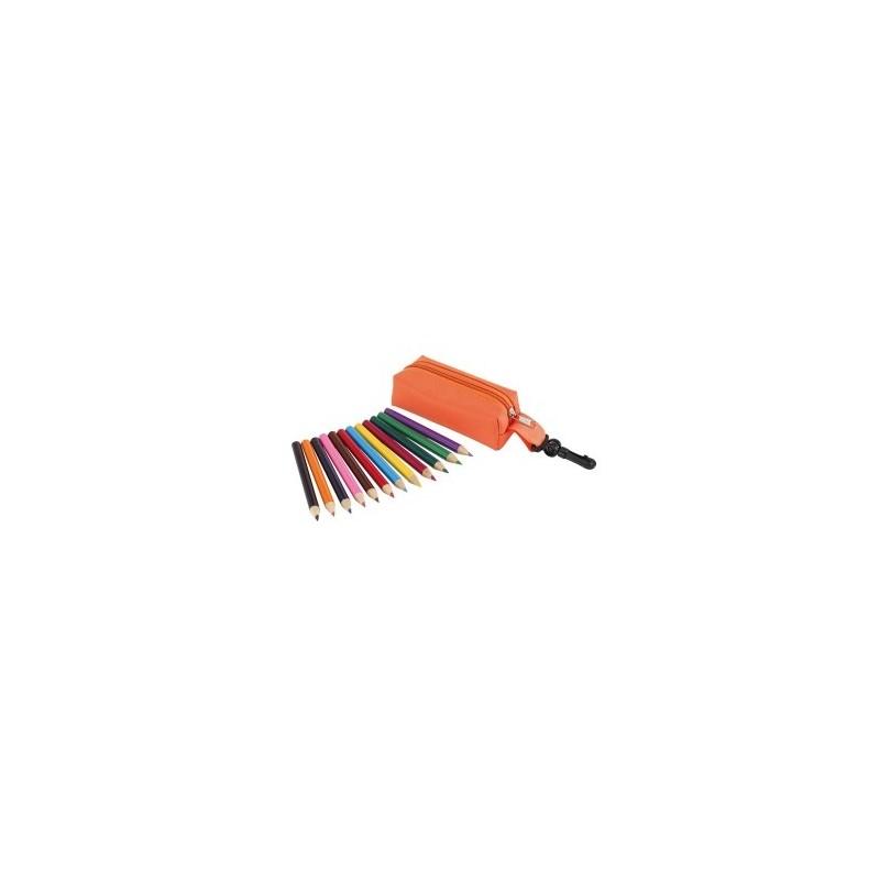 Trousse à crayons SMALL IDEA à prix grossiste - Trousse à stylos à prix de gros