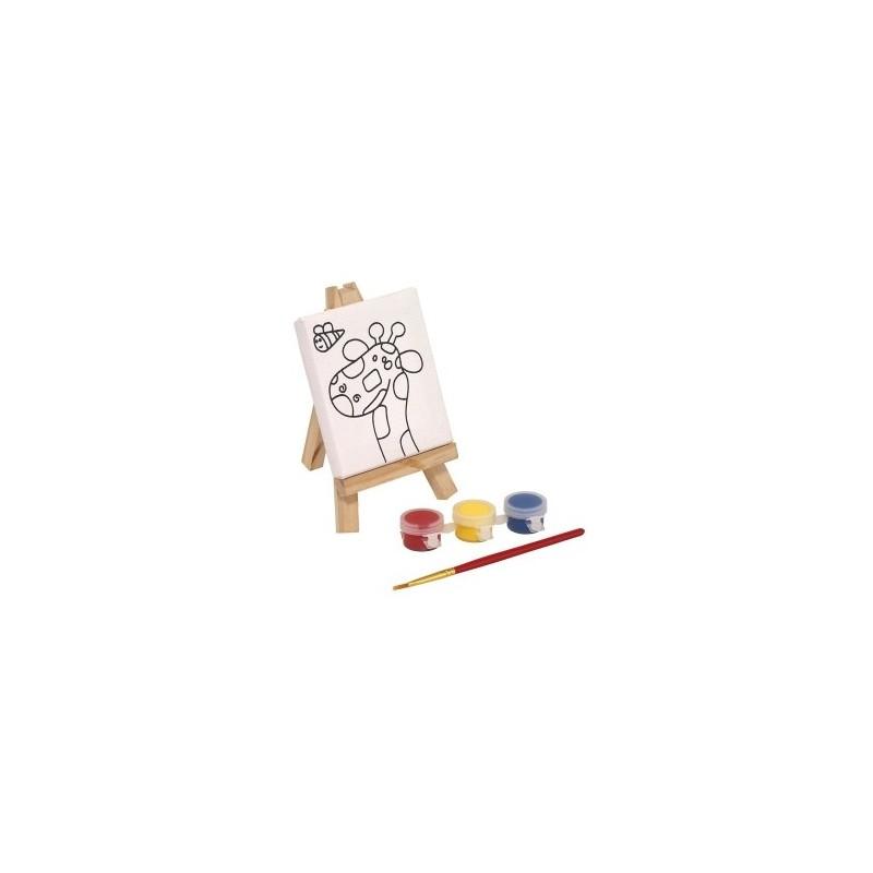 Set à dessin BRUSH EASEL - Matériel à dessin et coloriage à prix grossiste