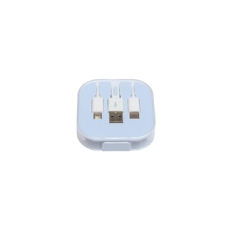 Câble de recharge 3 en 1 RECHARGER à prix de gros - Cable de charge à prix grossiste