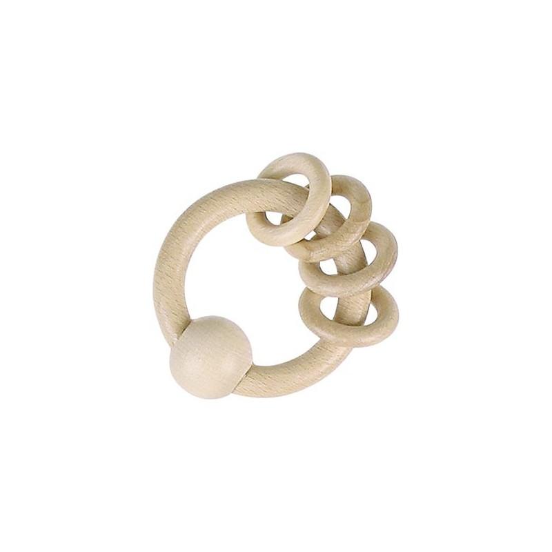Hochet avec 4 anneaux à prix de gros - hochet à prix grossiste