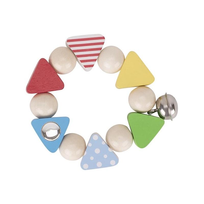 Hochet flexible confetti - hochet à prix grossiste