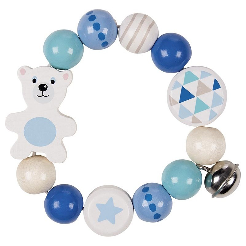 Hochet flexible ours polaire - hochet à prix de gros