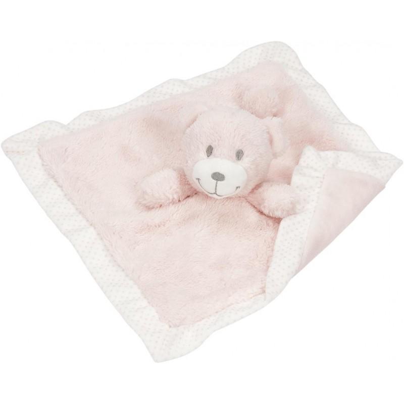 Doudou ours rose à prix grossiste - Doudou à prix de gros